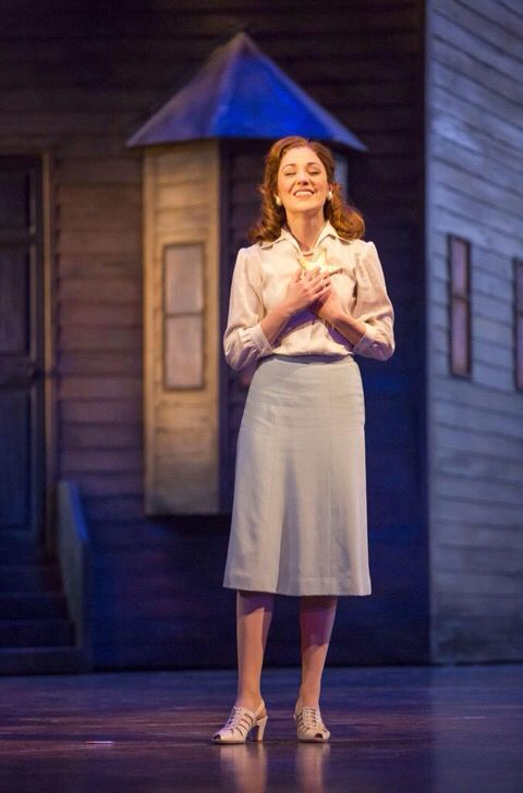 Laura Osnes in Carousel at Lyric Theatre in Chicago