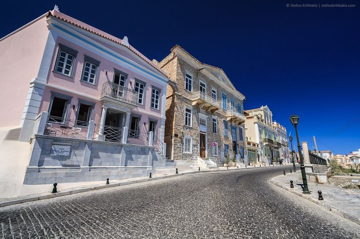 one of the most famous areas in Hermoupolis town in Syros island