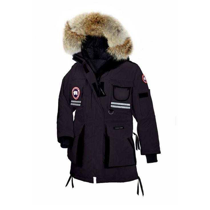 Snow Mantra Parka Noir Femme Canada Goose Parka