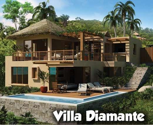 Estrena tu propia Villa con vista a la Bahia de Banderas, 3 modelos diferentes de SUPER Villas a TODO LUJO con 2,3 y 4 recámaras con vista al mar, baño completo y terrazas en cada una de ellas y proyectos q van desde los 2,347 a 2,888 p2 con el mejor plan
