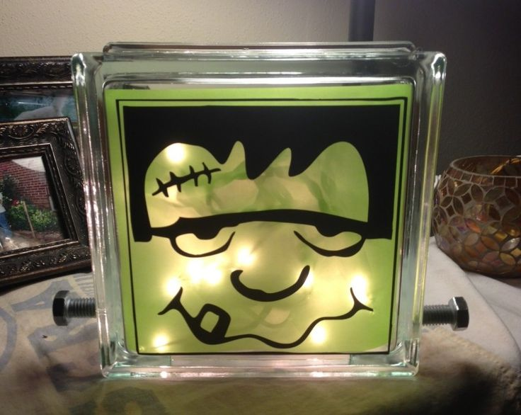 glass block crafts | ... Vinyl for Glass Blocks - LDS Enrichment Nights, Super Saturday Crafts