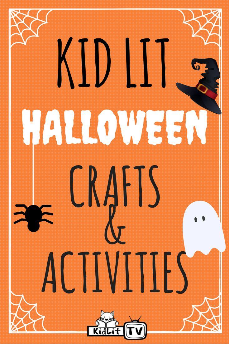 Last Minute Kid Lit Halloween Crafts Crafts Activities