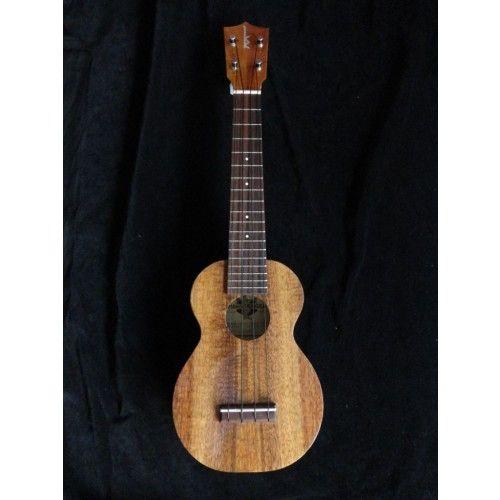 HF-1L+ Kamaka Koa Standard Long Neck Soprano w/ Gotoh Tuners - Kamaka - Solid Wood Ukulele for sale at Ukes.com