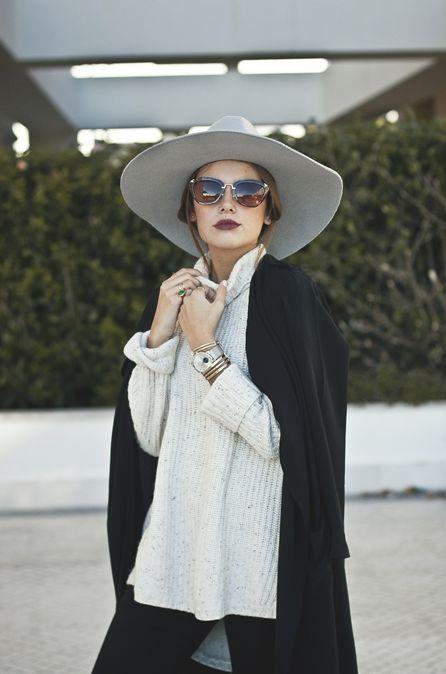 layers + floppy hat #streetstylebijoux, #streetsyle, #bijoux