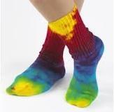 Kleurige sokken