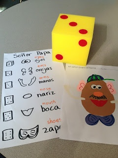 357 best el cuerpo images on pinterest learning spanish a bit of a do it yourself project with kids solutioingenieria Image collections