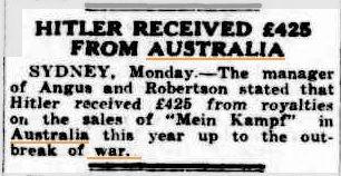 Information published in the Barrier Miner on November 6, 1939.