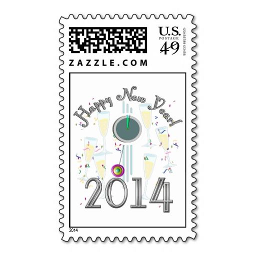 308 best New Year Postage Stamps images on Pinterest Postage - celebration letter