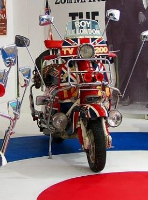 The ORIGINAL LAMBRETTA from the film QUADROPHENIA is still in the hands of the original owner who was an extra in the film. The scooter is currently on show at GORGEOUS GEORGE, The Pavilion, Tonbridge to raise money for KENT AIR AMBULANCE