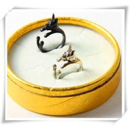 Fashion America Boston Terrier Dog Ring For Pet Lover
