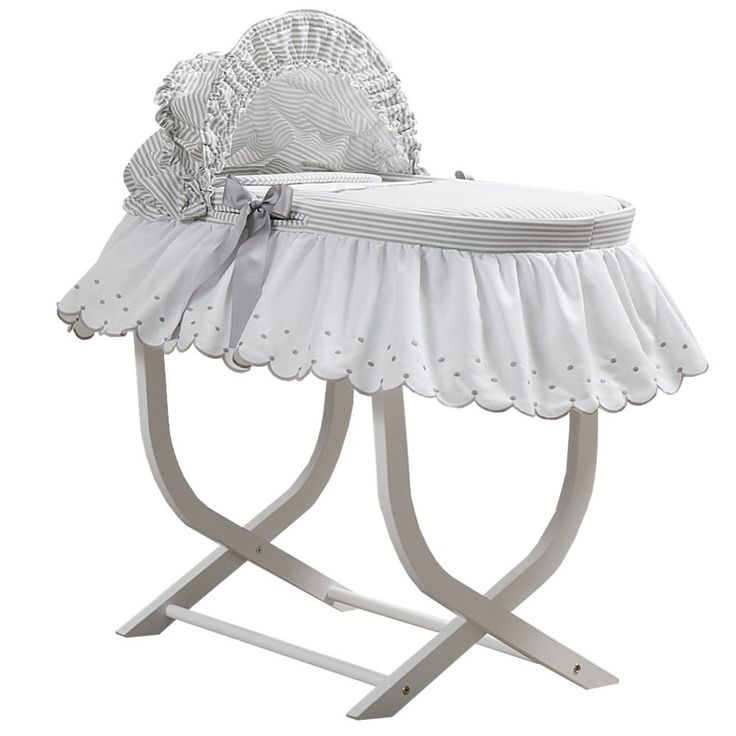 Luxury Moses Basket with Stand