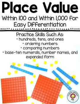 1000+ images about Place Value on Pinterest   Expanded form, Cut ...