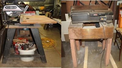 Radial Arm Saw 10 and Jointer Both Craftsman, Both w/ Stands
