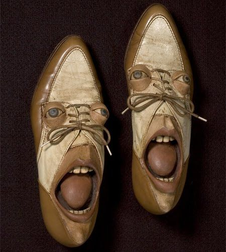 images of unusual shoes | Unusual and Funny Shoes with Faces ~ UNUSUAL THINGs