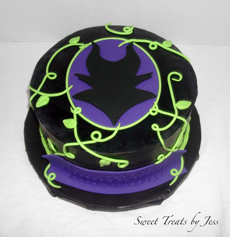 maleficent birthday cake | Birthday