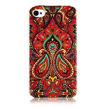 Nationale+Stijl+Kleurrijke+Line+Pattern+Silicone+Soft+Case+voor+iPhone4/4S                +–+EUR+€+3.67