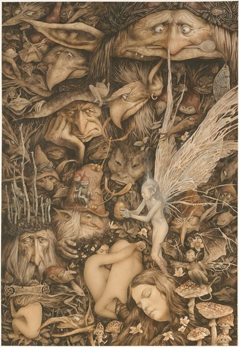 Incredible art of Brian Froud!: