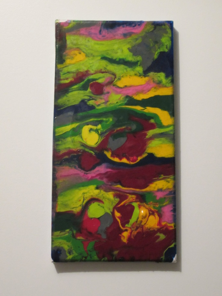 Melted Crayon by RocknChicArtBoutique on Etsy