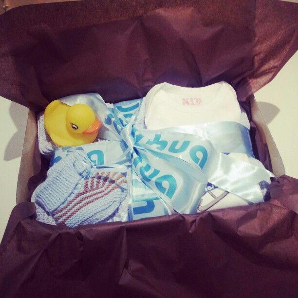 Custom baby gift sets