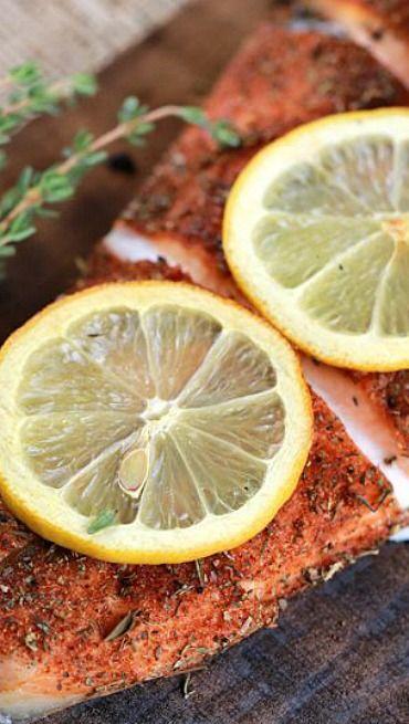 Grilled Cedar Plank Salmon Fillet