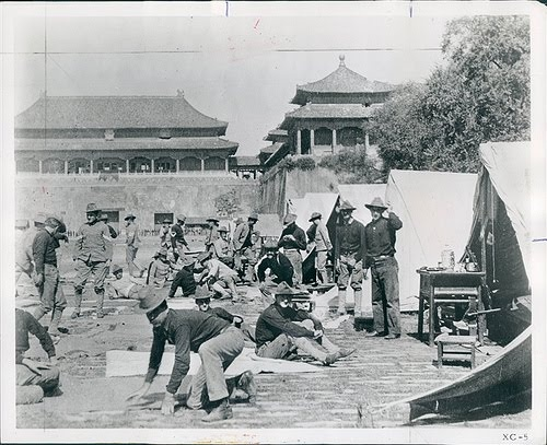 an analysis of the origins of the boxer uprising The boxer rebellion, boxer uprising or yihetuan movement was an  ensued,  along with the summary execution of those suspected of being boxers.