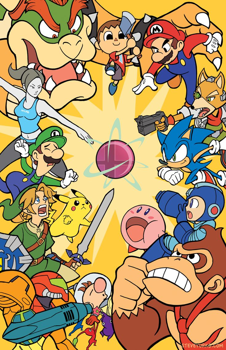 Super Smash Bros for #3DS is now out worldwide! - Simply Smashing by TheSteveYurko