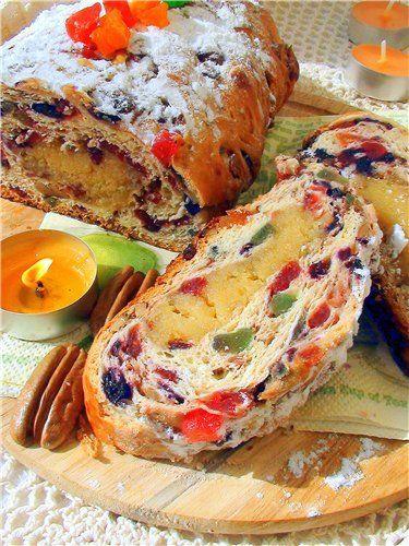 Паасброд.  Голландский «кулич». Paasbrood. пошаговый рецепт с фотографиями