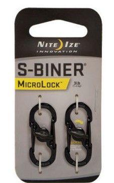Defence Gifts - Nite Ize MicroLock Steel S-Biner - 2 Pack, $5.50 (http://www.defencegifts.com.au/nite-ize-microlock-steel-s-biner-2-pack/)