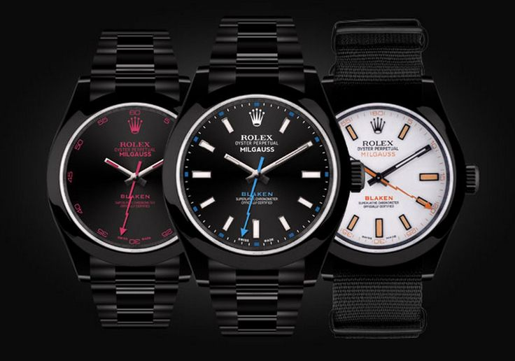A #Rolex Unlike any other - the BLAKEN Milgauss Customised from a new Rolex #watch in Germany - using patented DLC technology - BLAKEN creates something truly #unique. Why wear a Rolex the same as everyone else. Truly unique - and certainly not for everyone....  Email us at assistance@vendome.com.au, or call 0280692316 for more information.