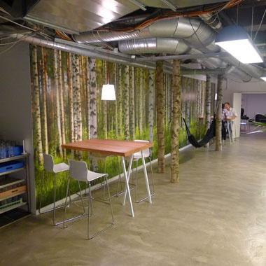 Forskellige typer erhvervslokaler til leje - Soho - Kontorhotel - Kødbyen i København