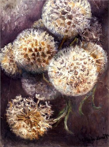 Dandelions - Claude Monet