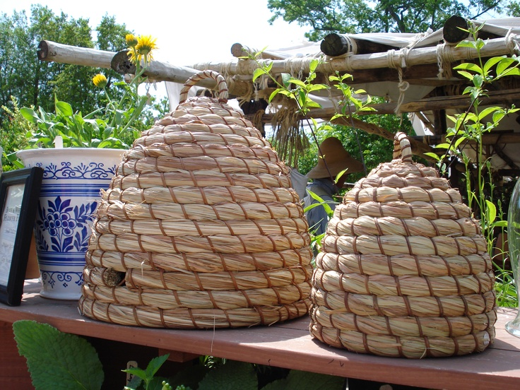 Bee Hives for sale at Colonial Williamsburg