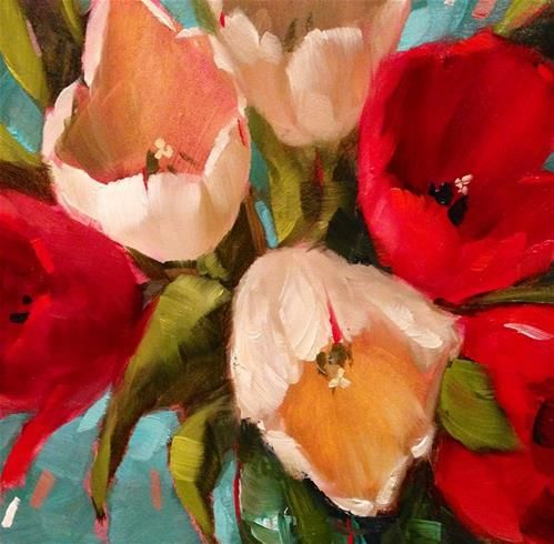 It's all about love - Original Fine Art for Sale - © by Krista Eaton