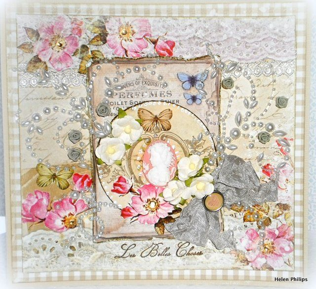 Phil'o Carty: House of Roses' Les Belles Card