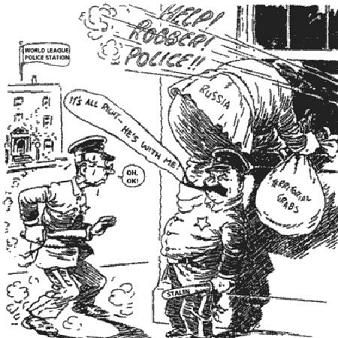 In This American Cartoon From 1946 The Thief Labelled