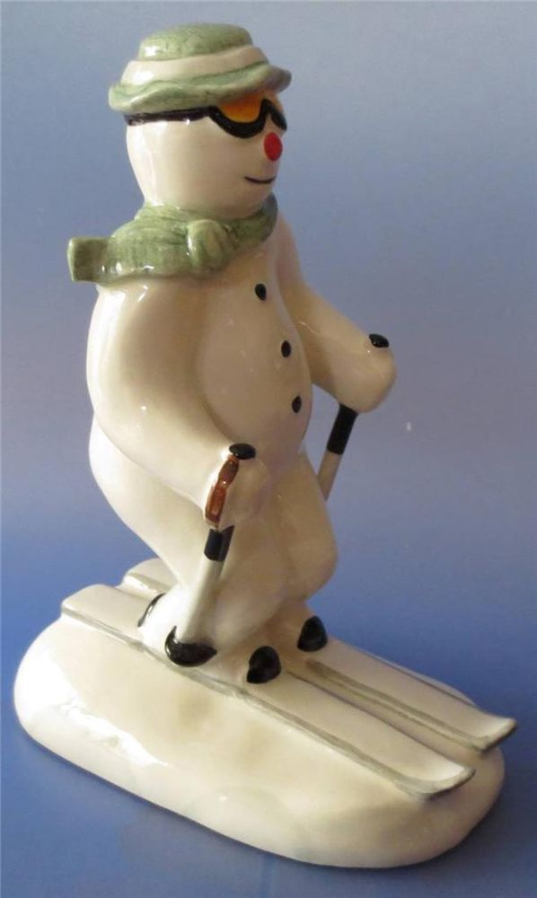 Royal Doulton  Snowman Skiing Figure DS 21 Rare
