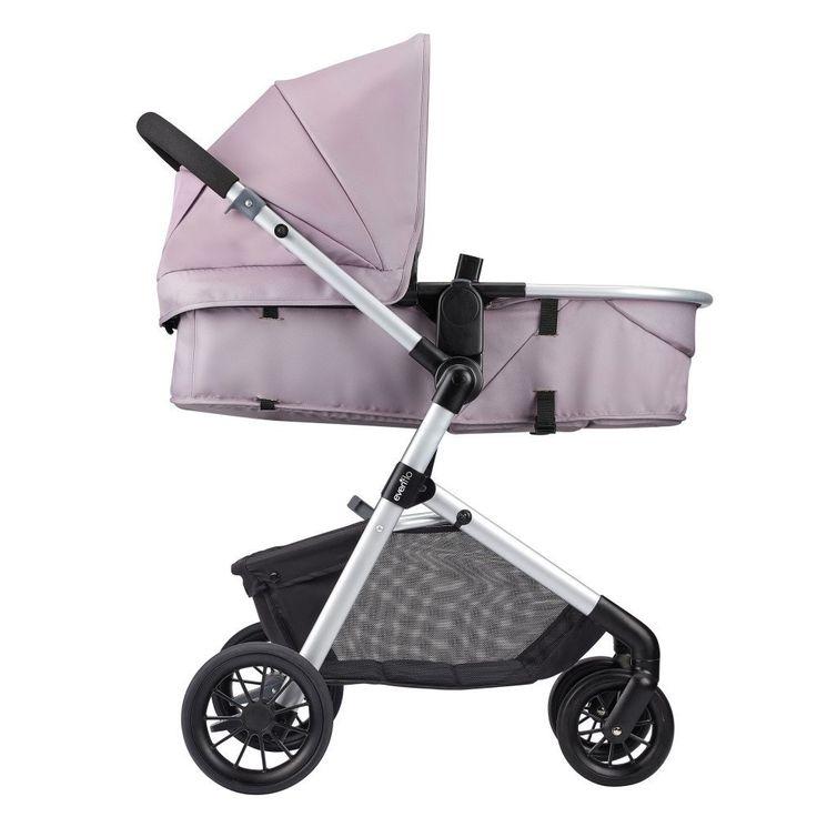 The Pivot Modular Travel System Featuring SafeMaxTM Infant Car Seat Evenflo Company Inc