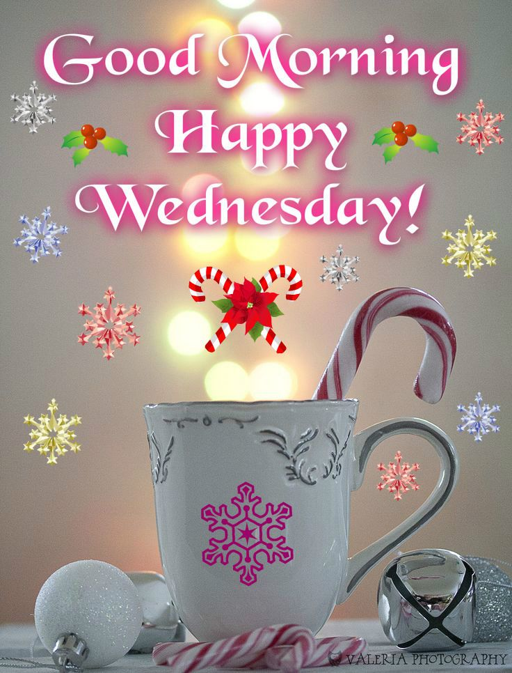 Wednesday Good Morning days days of the week christmas ...