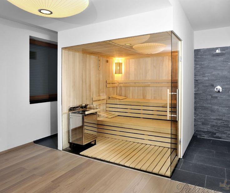 Sauna - patchowork na podlaze