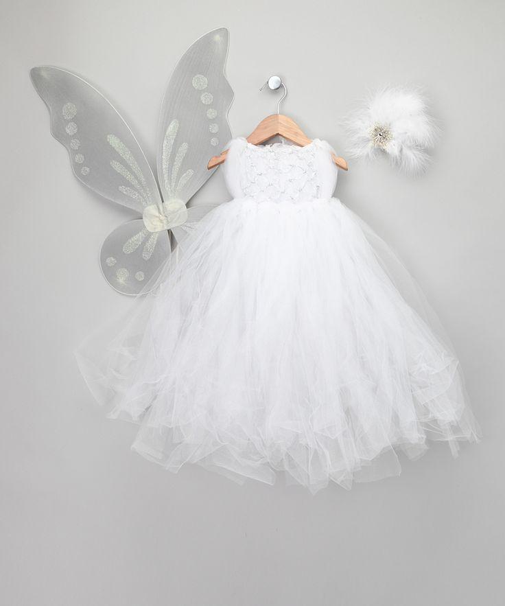 White Snow Fairy Dress Up Set Infant Amp Toddler Enchanted