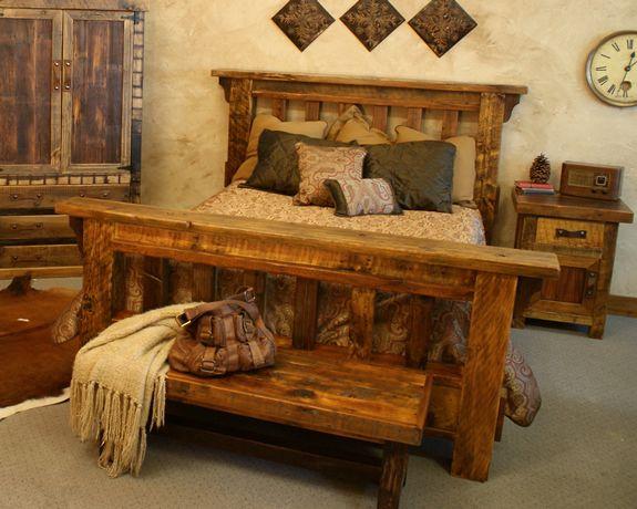 Black Mountain Barnwood Bed