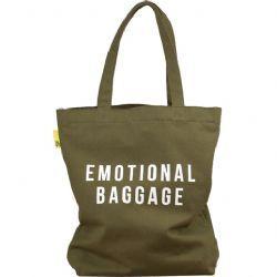 Emotional Baggage Canvas Tote Bag