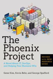 The Phoenix Project | http://paperloveanddreams.com/book/652228876/the-phoenix-project | Bill is an IT manager at Parts Unlimited. It's Tuesday morning and on his drive into the office, Bill gets a call from the CEO.The company's new IT initiative, code named Phoenix Project, is critical to the future of Parts Unlimited, but the project is massively over budget and very late. The CEO wants Bill to report directly to him and fix the mess in ninety days or else Bill's entire department will…