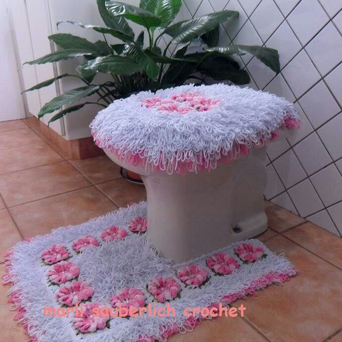 Crochet Bath And Kitchen Rugs Pattern Free