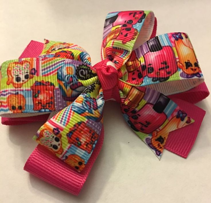 Shopkins Inspired Girl's Hair Bow. Shopkins Girl's Toddler Baby Hair Bow Clip | Clothing, Shoes & Accessories, Kids' Clothing, Shoes & Accs, Girls' Accessories | eBay!