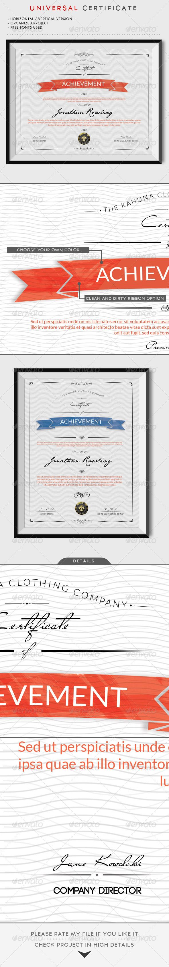 60 best 证书 images on Pinterest   Certificate templates ...