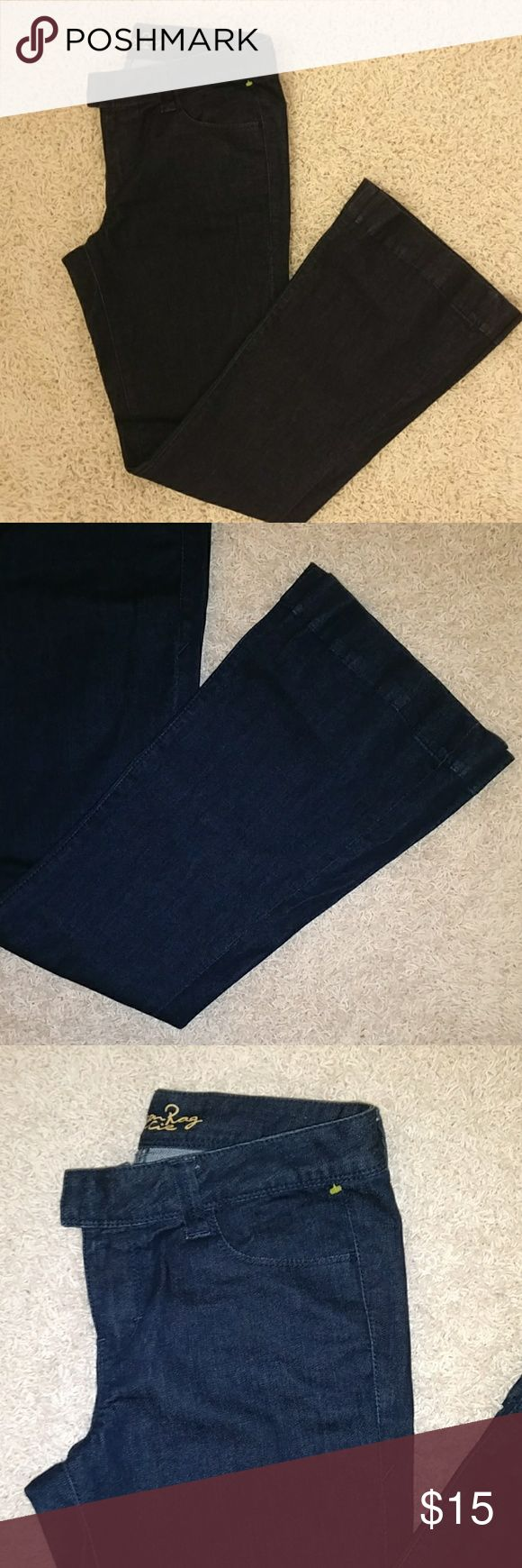 American Rag jeans Jeans have a bell bottom and are in like new condition. American Rag Jeans
