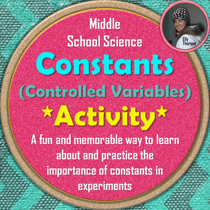 Variables Worksheets For Middle School Science Fun : Best elly thorsen s middle school science resources