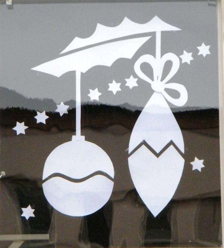 Vianocne ozdoby do okna