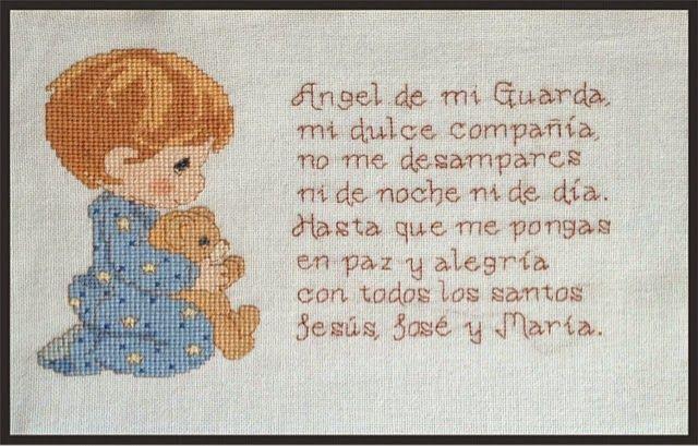 Termine otra oracion del Angel de la Guarda para el encargo de una amiga.